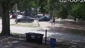 People duck for cover during Titusville shootout caught on camera