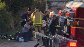 Woman injured after bedroom fire in Titusville, officials say