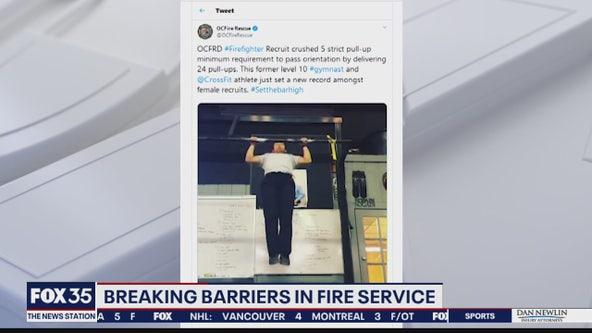 Breaking barriers in fire service