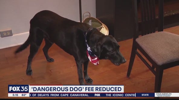 Dangerous Dog fees reduced in Orange County