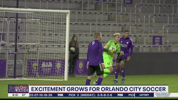 Excitement grows for Orlando City Soccer