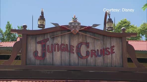 The Jungle Cruise at the Magic Kingdom