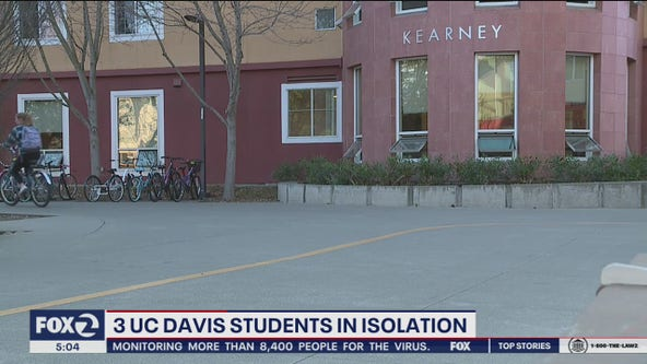 Students at UC Davis, community colleges affected by coronovirus outbreak