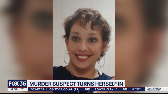 Murder suspect turns herself in after missing woman found dead in trunk of car