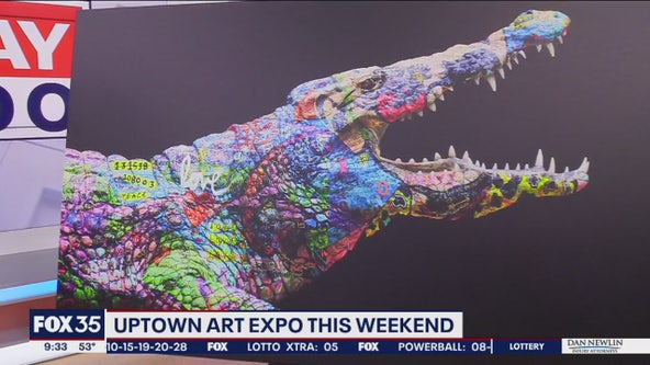Uptown Art Expo this weekend