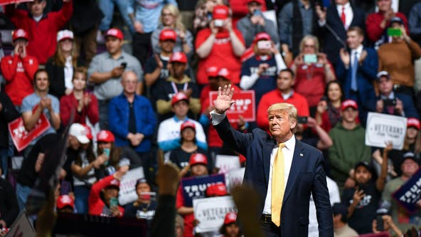 Trump slams Dems, 'Parasite,' Brad Pitt as rally blitz moves to Colorado