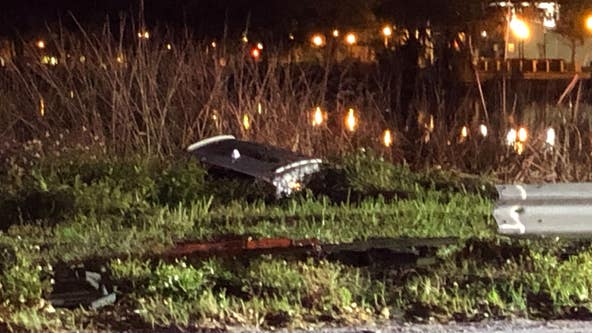 Police attempt to find missing driver after vehicle is abandoned along Lake Ivanhoe