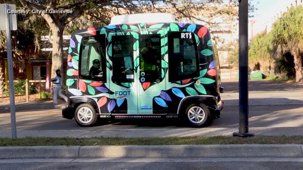 Gainesville shuts down driverless buses