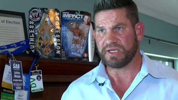 From 'The Blueprint' to mayor: Former pro wrestler Matt Morgan's journey from the ring to politics