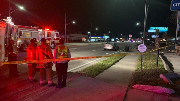 FHP: Woman and child dead after being struck by motorcyclist who is left critically injured