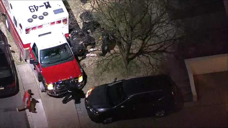 Police capture suspect following stolen ambulance chase in Northeast Philadelphia