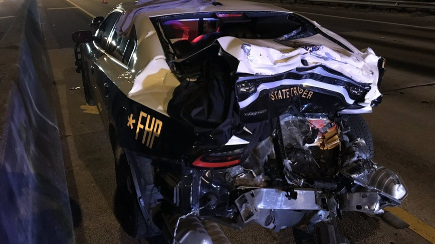 "Florida trooper seriously injured in crash, FHP reminds drivers to ""move over"""
