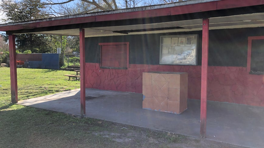 Fire damages little league concession stand