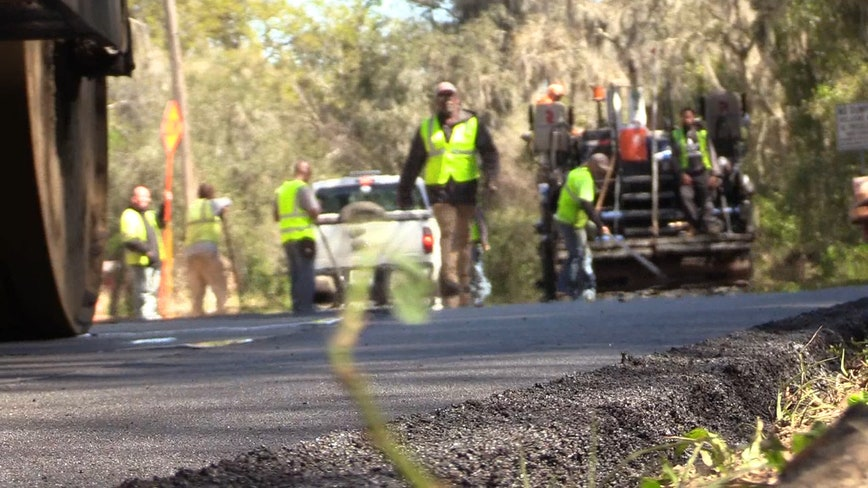 Large repaving project begins in Lake County