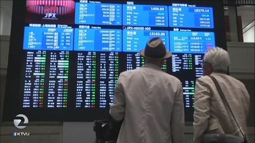 Stocks open sharply lower on Wall Street; Dow Jones is 10% below record high