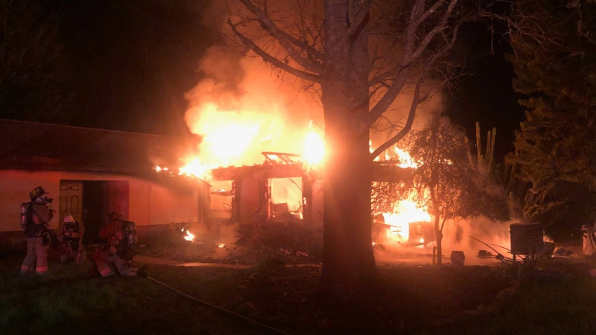 Apopka home believed to be a total loss after fire, rescue officials say