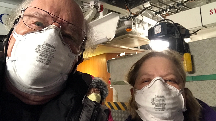 Citrus County couple happy to be back in U.S. after cruise-ship coronavirus quarantine