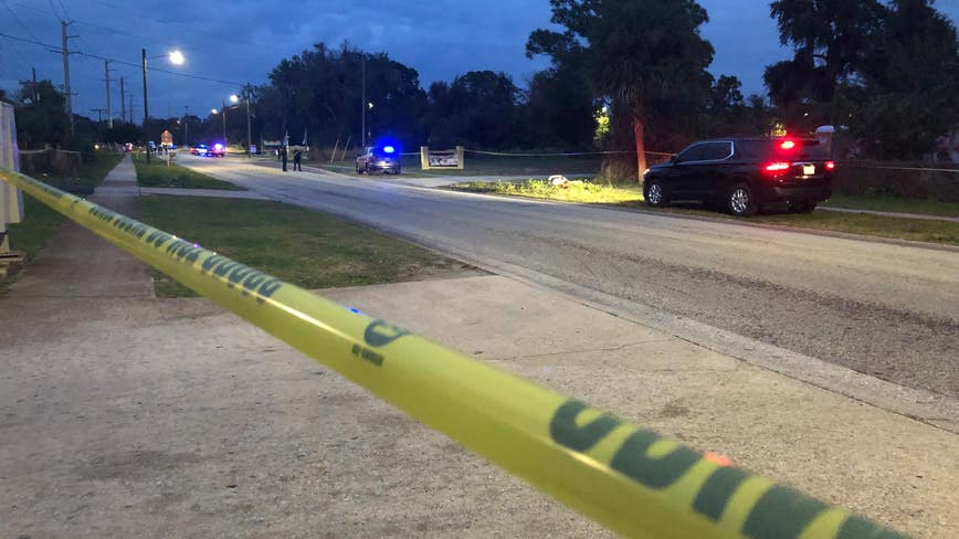 Innocent victim shot in Titusville shootout dies, search for gunman continues, police say