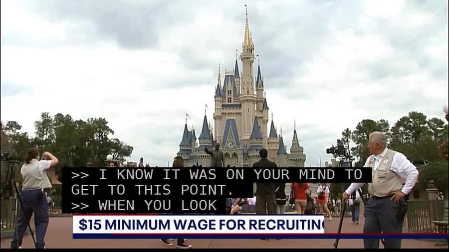 $15 Minimum Wage for Recruiting