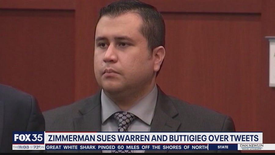 George Zimmerman sues Warren, Buttigieg for $265M