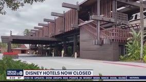 Disney hotels closed