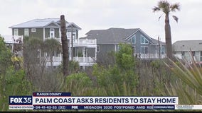 Palm Coast asks residents to stay home