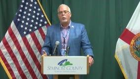 Seminole County officials give a coronavirus update