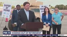 DeSantis calls on retired healthcare workers and LEO to fight COVID-19