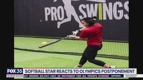 Softball star reacts to Olympics postponement