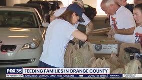 Feeding families in Orange County