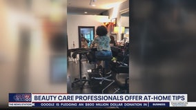 Beauty care professionals offer at home tips