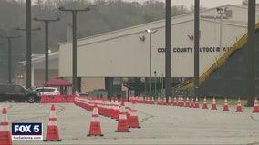 Georgia opens first drive-thru COVID-19 testing site