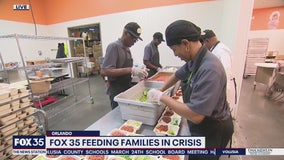 David Does It: FOX 35 Feeding Families in Crisis