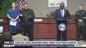 Orange County mayor says social distancing will help flatten curve