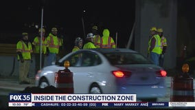 Inside the I-4 Ultimate construction zone