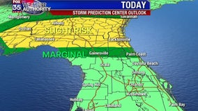A few strong storms possible across Central Florida Thursday afternoon