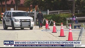 Brevard beaches staying open for now