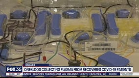 OneBlood collecting plasma from recovered coronavirus patients