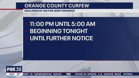 Orange, Osceola Counties issue curfews
