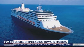 Cruise ship with sick passengers heading to Florida
