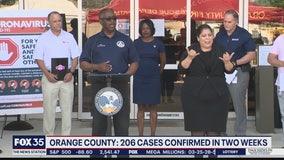 Orange County: 206 cases of COVID-19