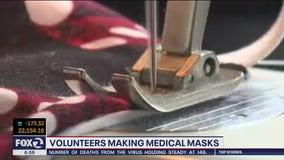Bay Area woman sews DIY surgical masks