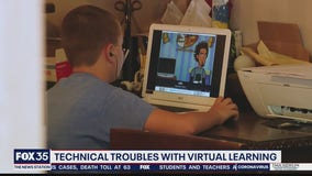 Technical troubles with virtual learning
