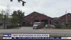 First responders in isolation after COVID-19 exposure