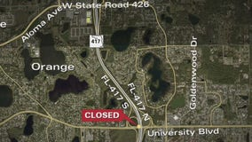 Overnight detours expected on State Road 417 this week