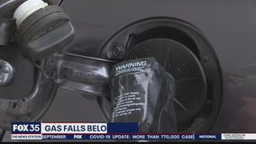 Gas prices drop amid reduced demand