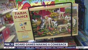 Board games making a comeback