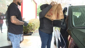 North Georgia community pulls together to feed children during coronavirus school closures