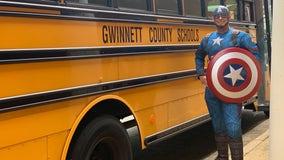 Principal transforms into superhero for lunch delivery amid COVID-19 outbreak