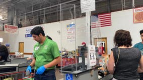 Costco stores install plexiglass around registers as coronavirus cases continue to rise